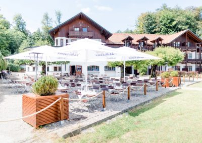 Restaurant Forsthaus am See am Starnberger See im Pöckinger Ortsteil Possenhofen
